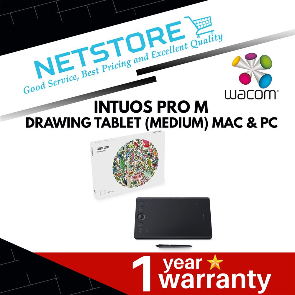 Best Drawing Tablet 2020.Wacom Intuos Pro M Drawing Tablet Medium Mac Pc Pth 660 K0 Cx
