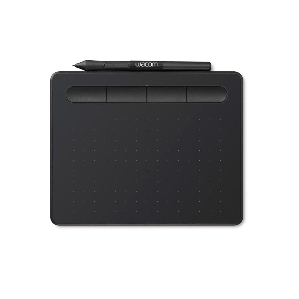 Wacom Intuos S Black Small Creative Drawing Graphic Table & Pen -  CTL-4100/KO