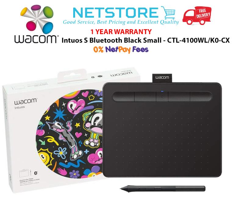 Wacom Intuos S Bluetooth (Black) - CTL-4100WL/K0-CX