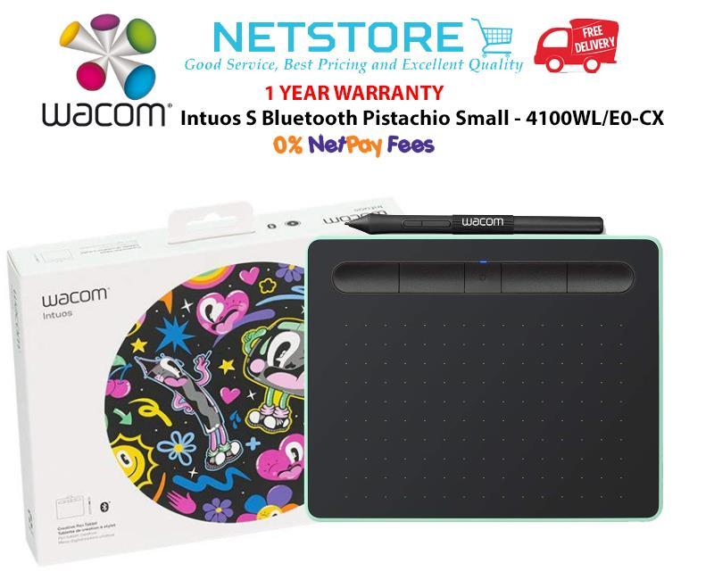 Wacom Intuos S Bluetooth (Pistachio) - CTL-4100WL/E0-CX