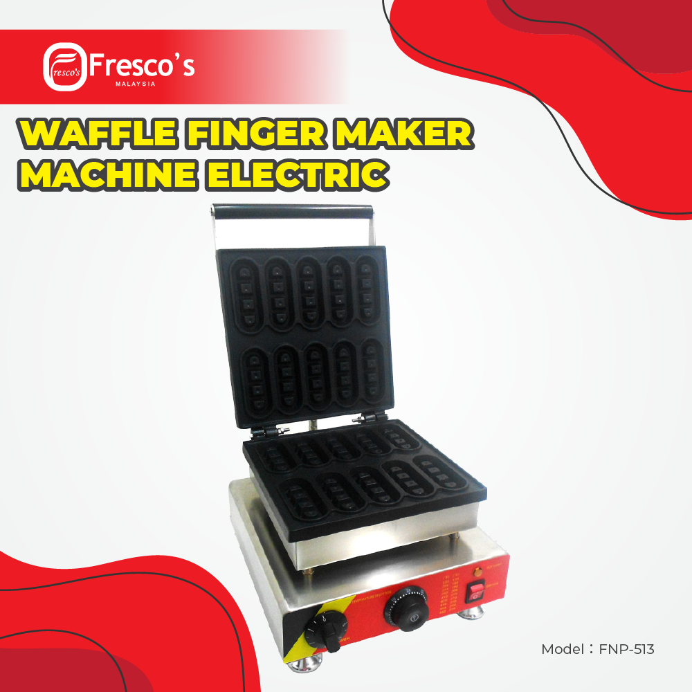 Waffle Finger Maker Machine Electric