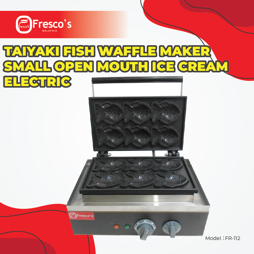 Waffle Small Fish Taiyaki Electric Maker Machine