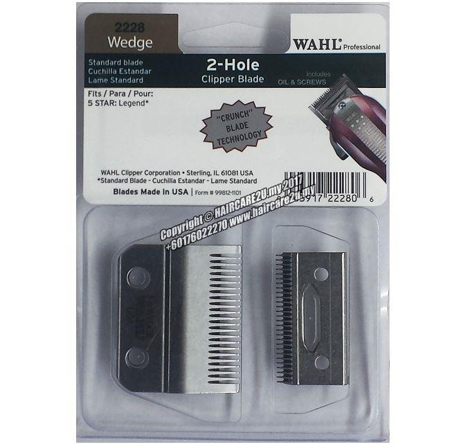 Wahl 2228 (Wedge) 5 Star Legend 2-Hole Clipper Blade