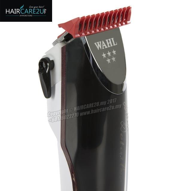 WAHL 8163 5-Star Adjustable Cordless Detailer T-Wide Blade Trimmer