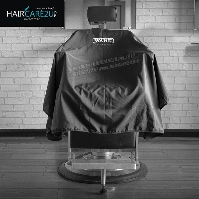 WAHL Black Polyester Professional Hair Cutting Cape
