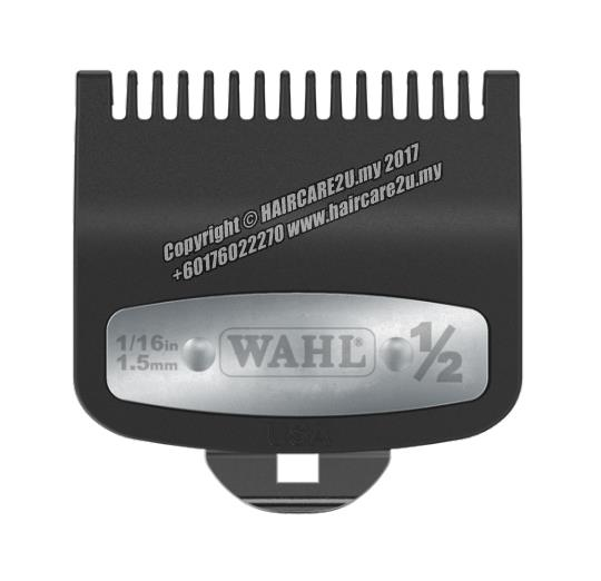 Wahl Premium Attachment Cutting Guide Comb with Metal (#1.5 - 4.5mm)