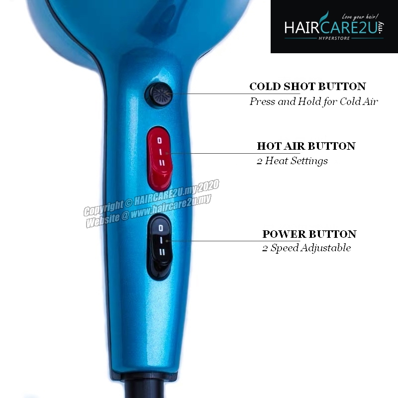 Wahl Pro 2812 Year 1919 Barber Salon Professional Hair Dryer
