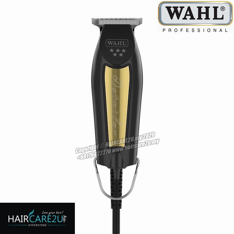 Wahl Pro 5 Star Corded Detailer Black & Gold Hair Trimmer #8081