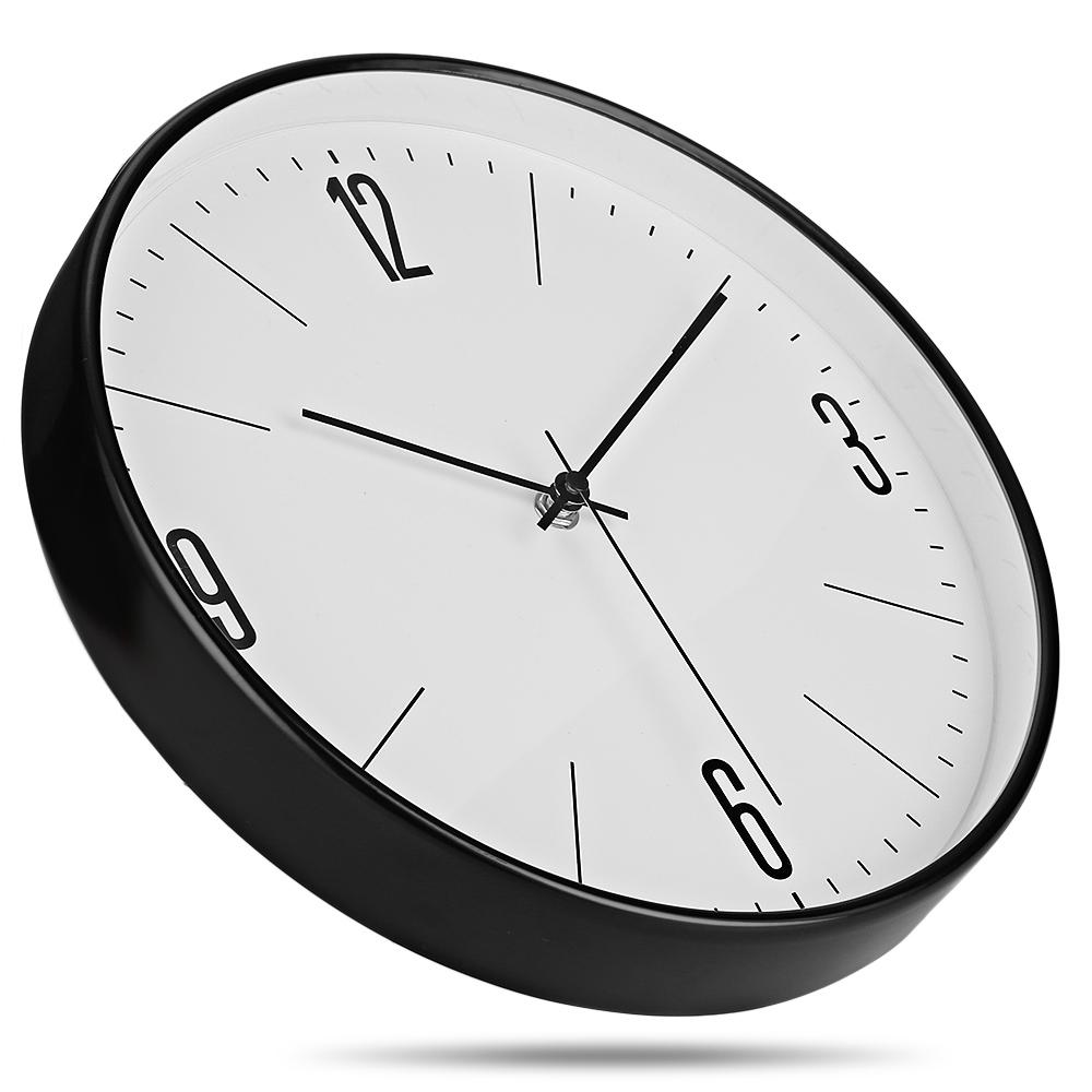 Wall Clock 29cm Silent Metal Wall End 7272019 1217 Am