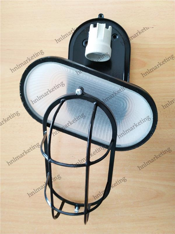 WALL LAMP E27 BULK HEAD WALL CEILING INDOOR OUTDOOR ANTIQUE LAMP