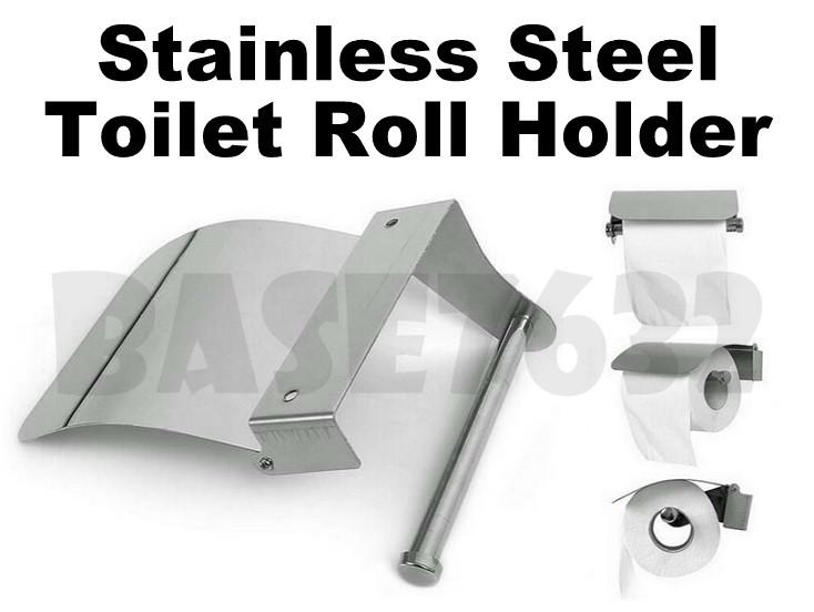 Wall Mounted Stainless Steel Toilet Paper Tissue Holder Box 1645.1