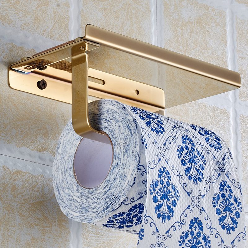 Wall Mounted Toilet Paper Roll Holder Plastic