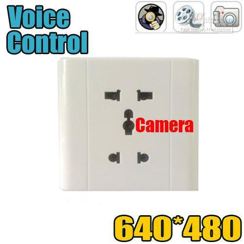 Wall Socket DVR Pinhole Hidden Digital Video Recorder