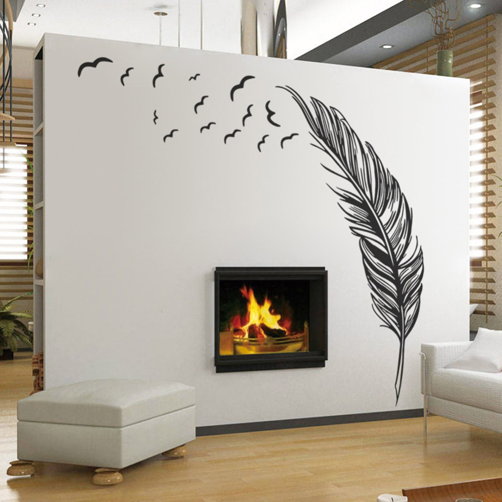 Wall sticker vinyl birds flying fe end 11 22 2018 11 55 pm - Chambre ambiance mer ...