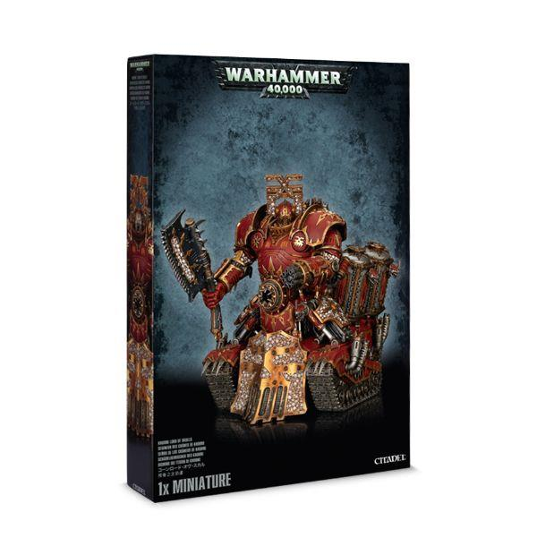 Warhammer 40K Chaos Space Marine Khorne Lord of Skulls