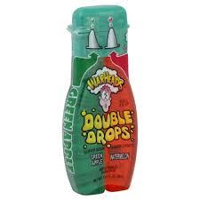 Warheads Super Sour Double Drops Green Apple & Watermelon