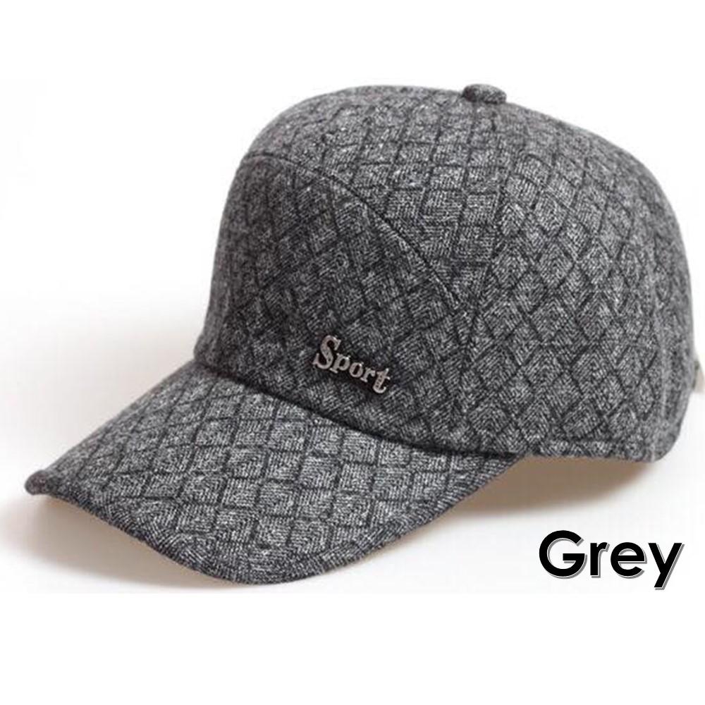 Warm Winter Thickened Baseball Cap With Ears Men  S Cotton Hat Snapback b32afaa6b30