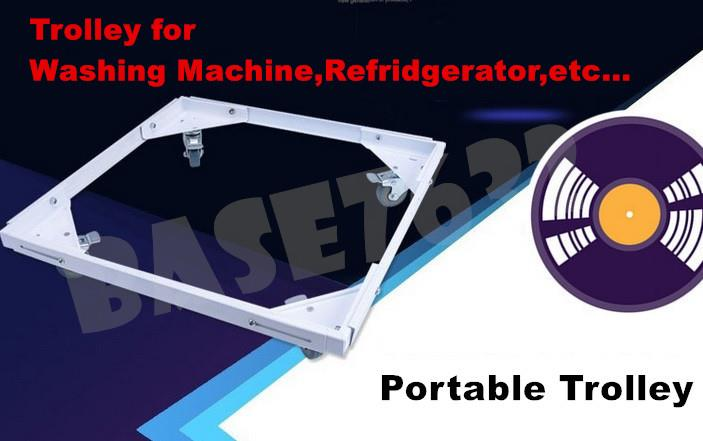 Washer/Washing Machine/Fridge Refridgerator Trolley Pulley Base Frame