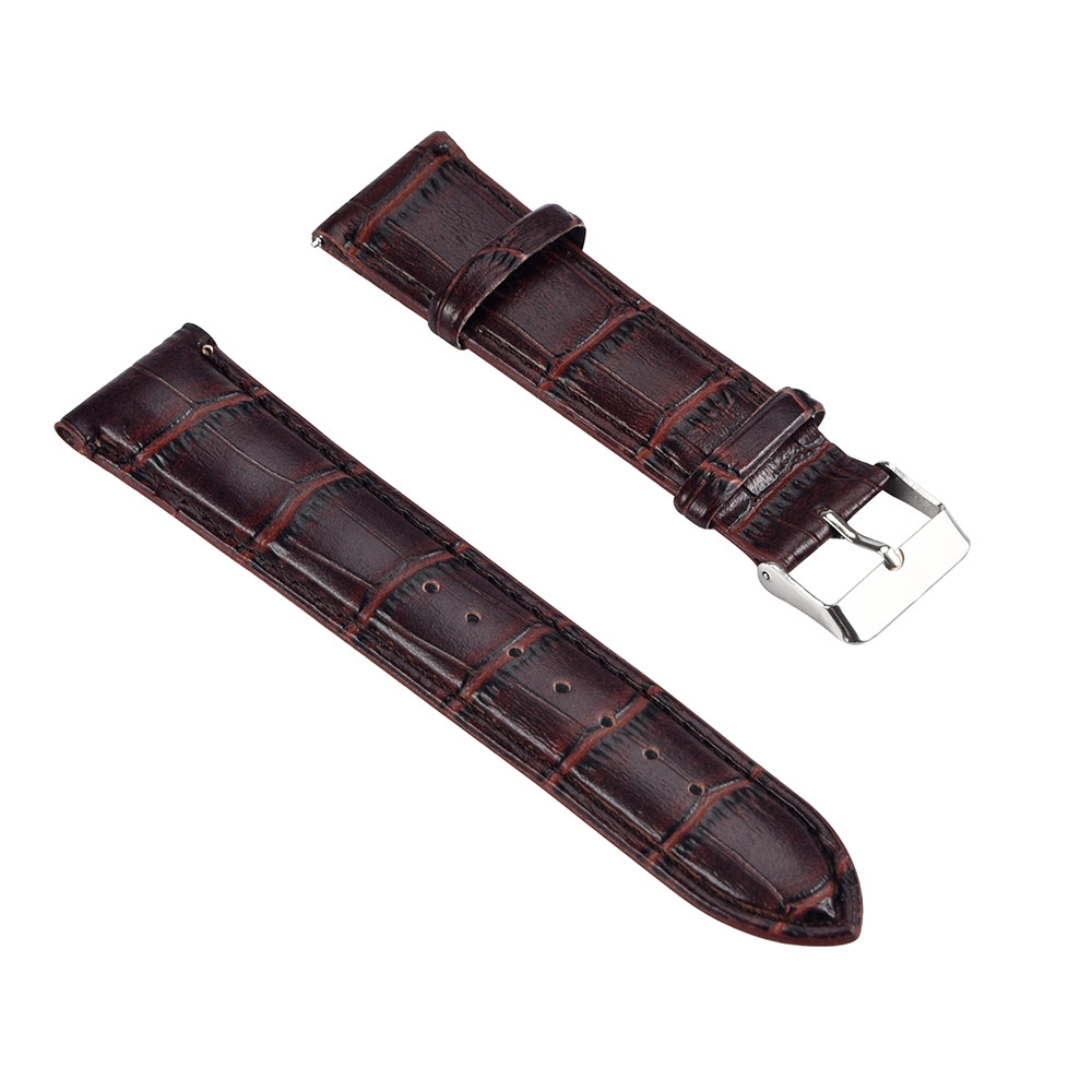 Watch Accessories - Leather Watchband - Replacement Leather Band Wrist..