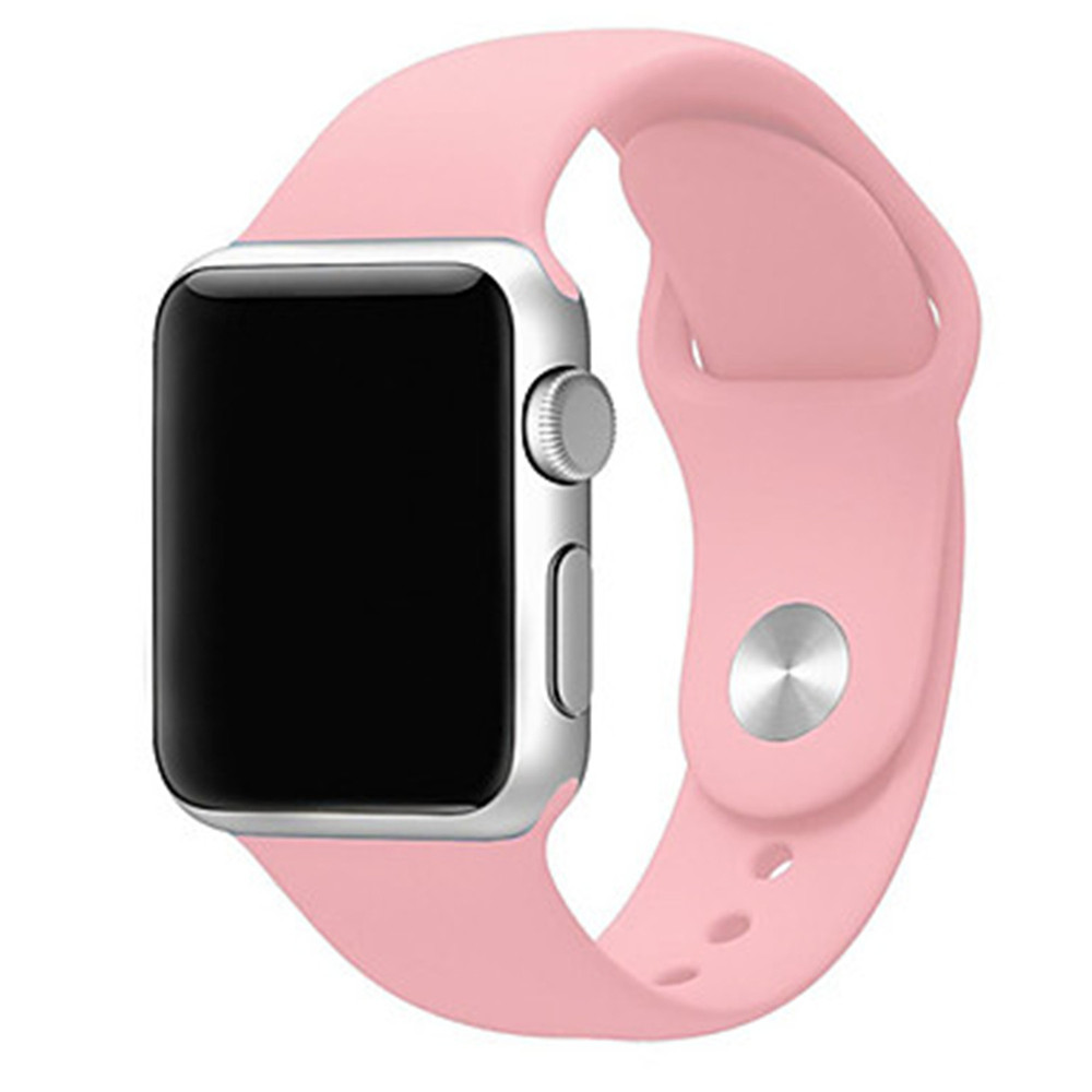Watch Accessories - Watch Band - Silicone Replace Bracelet For Apple W..