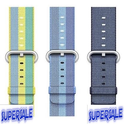 Watch Strap Nylon Braid Apple Watch 38/42mm Series 1 & 2