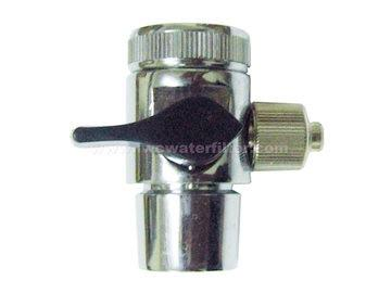 Water Filter Medium Rubber Turner 1 Way Adapter with Skru (3/8')