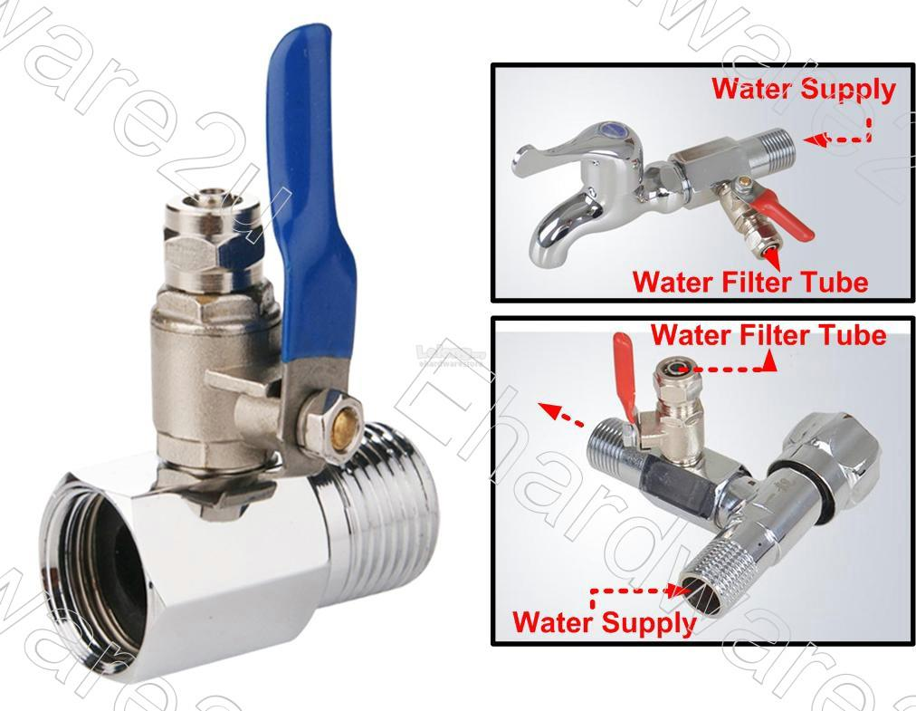 Water Filter System Feed-Water Adapter Connection Kit (FWA0402)