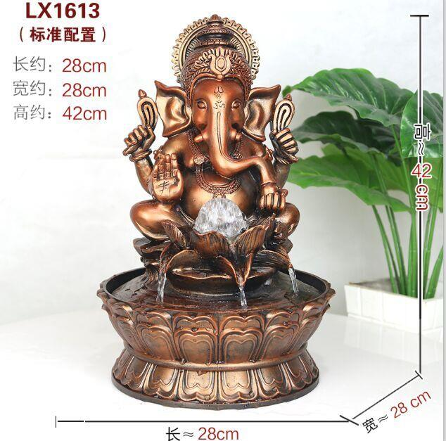 WATER FOUNTAIN GANESHA 1613 WATER end 5112018 1215 PM