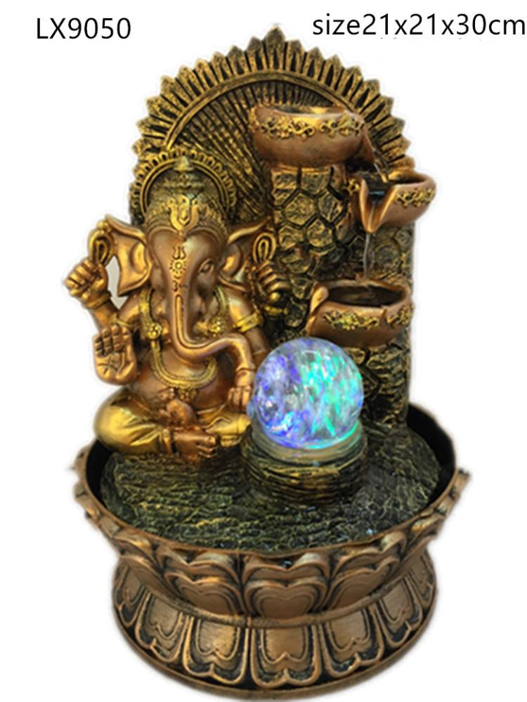 WATER FOUNTAIN - GANESHA 9050 WATER FEATURE FENG SHUI HOME DECORATION