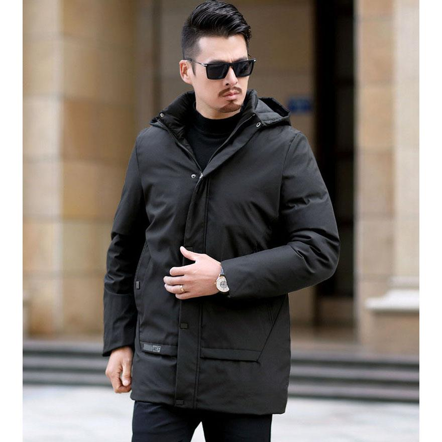 Water Proof Men Winter Jacket Hooded Autumn Jacket Blazer Coat