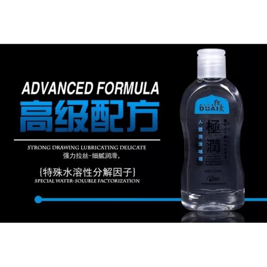 Water Soluble Sex Play Anal Lasting Body Massage Lubricant Gel 220ml