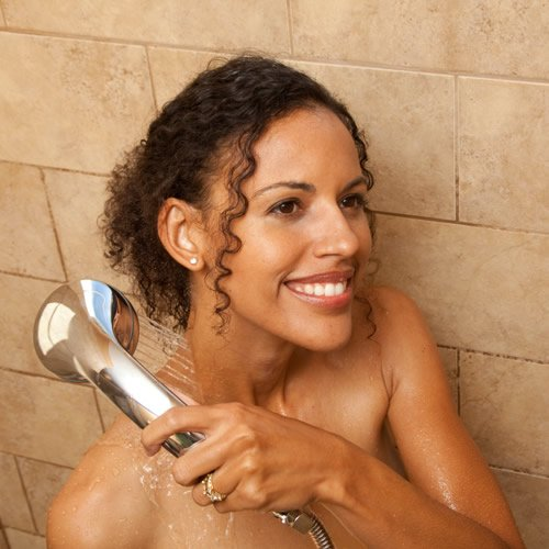 ~ WaterChef Premium Shower Filter System SF-7C with Deluxe, Adjustable Spray W