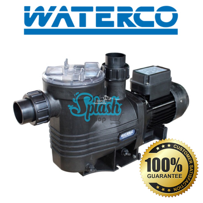 Waterco Supastream Pump (0.5Hp) for swimming pool -50Hz 220-240V, 40Mm