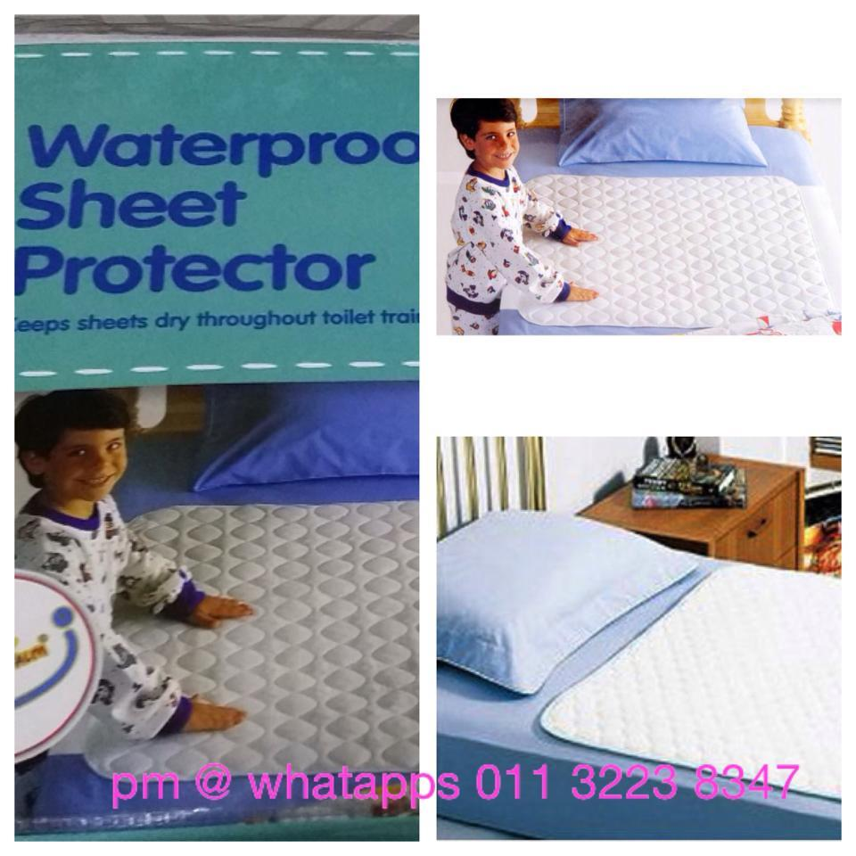 waterproof bed sheet protector -3 l (end 8/27/2015 10:15 pm)