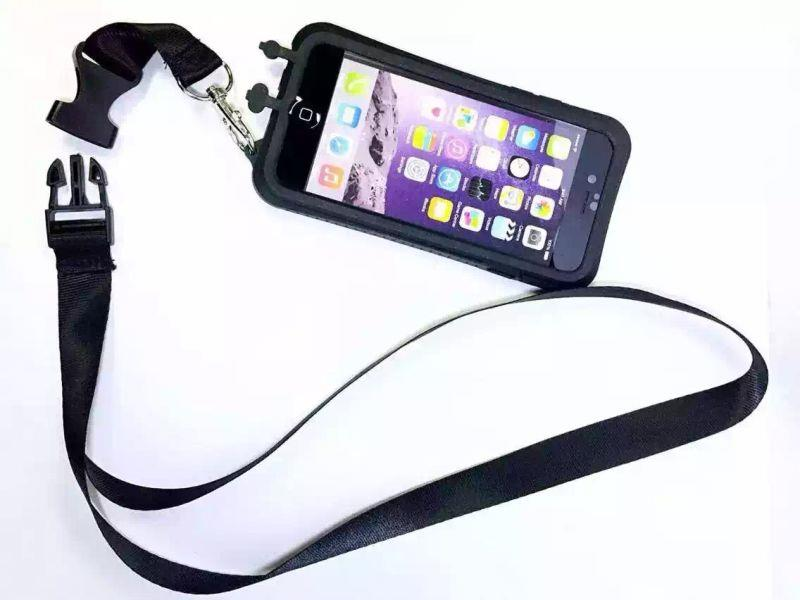 best sneakers c3b33 eca3d NEW Waterproof Case with Lanyard Neck Strap for iPhone 6 iPhone 6+