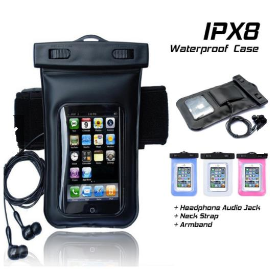 Waterproof Case Phone Up To 6 5 Dry Bag Cover Armband
