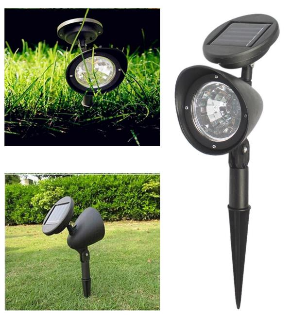 Outdoor Solar Lights Parts: Waterproof LED Solar Lamp Outdoor Ga (end 6/28/2020 5:15 PM