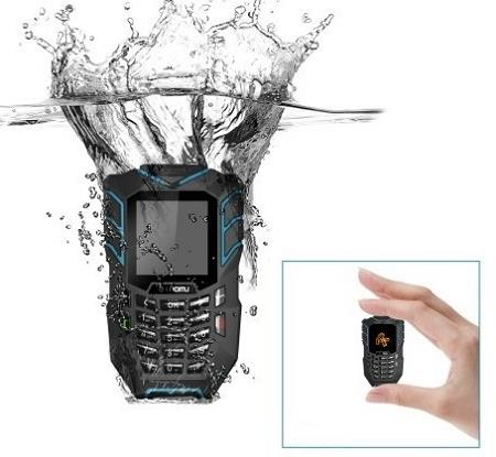 Waterproof Mini Rugged Phone (WP-LM138).