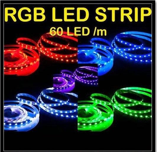 Waterproof RGB 5050 LED Strip RGB LED LIGHT