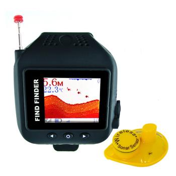 Waterproof Watch Wireless Fish finder (WP-FF12).