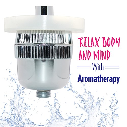 ~ New Wave Shower Filter With Free Aromatherapy Diffuser Ring