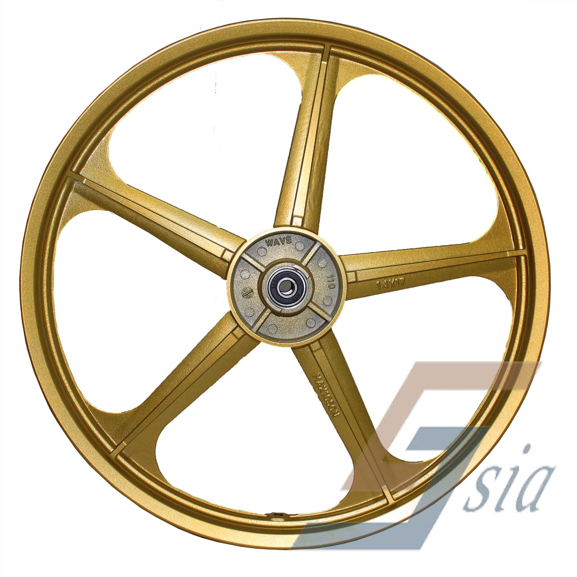 Wave110/Dash110/Future/Wave125i BS2 Racing Sport Rims (Gold)