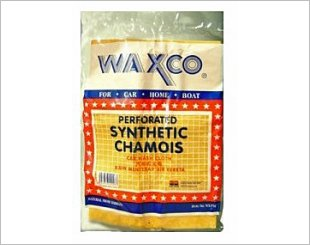 WAXCO CLEANER PERFORATED SYNTHETIC CHAMOIS