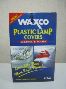 WAXCO CLEANER PLASTIC LAMP COVERS 125ML