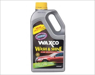 WAXCO CLEANER WASH & SHINE HIGH QUALITY CAR SHAMPOO 1000ML