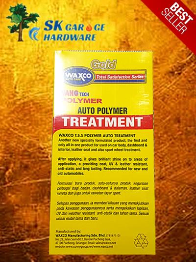 WAXCO GOLD AUTO POLYMER TREATMENT