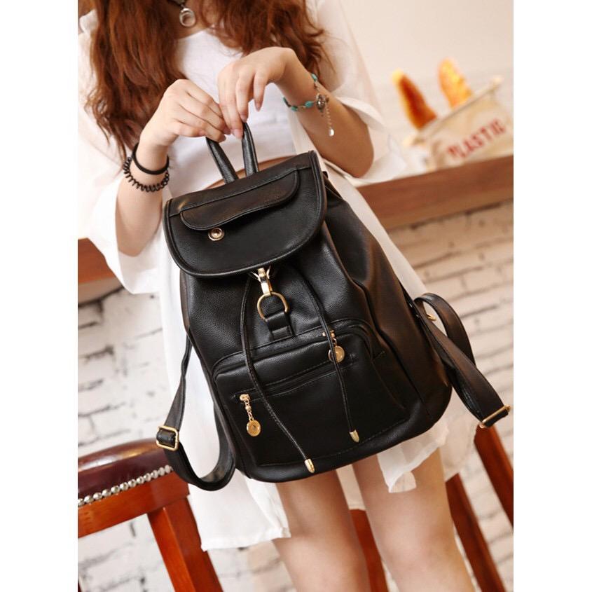 2de5ae5c1d49  WB 070  PU Leather Shoulder Bag Bla (end 2 11 2020 1 07 AM)