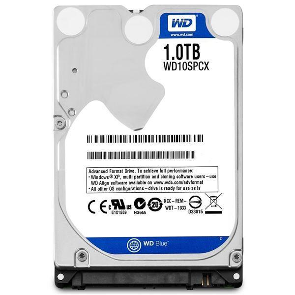 WD 1TB 2.5'' Sata Laptop HDD Hard Disk Drive 5400RPM Notebook WD10SPCX