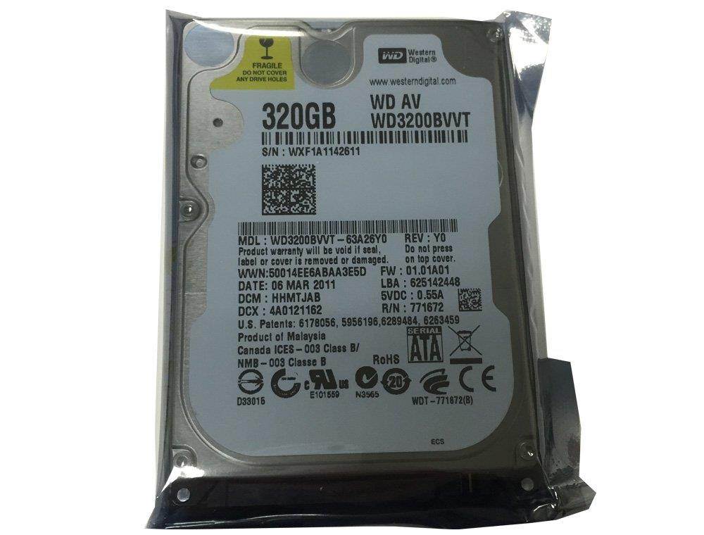 "WD 320GB 8MB Cache SATA 2.5"" Notebook Laptop Hard Disk Hardisk Drive"