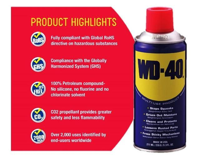 WD-40 Multi Use Product 277ml